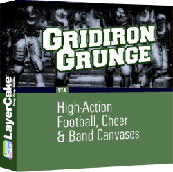 Gridiron Grunge Backgrounds