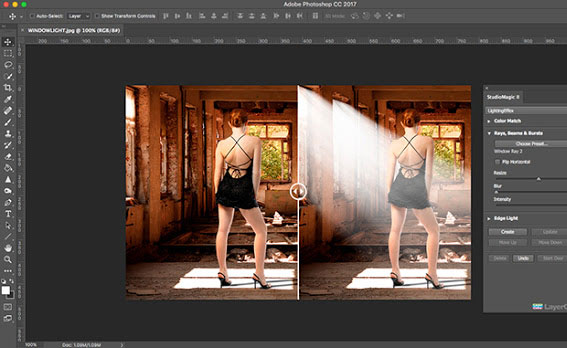 Creating Dramatic Lighting in a Snap!