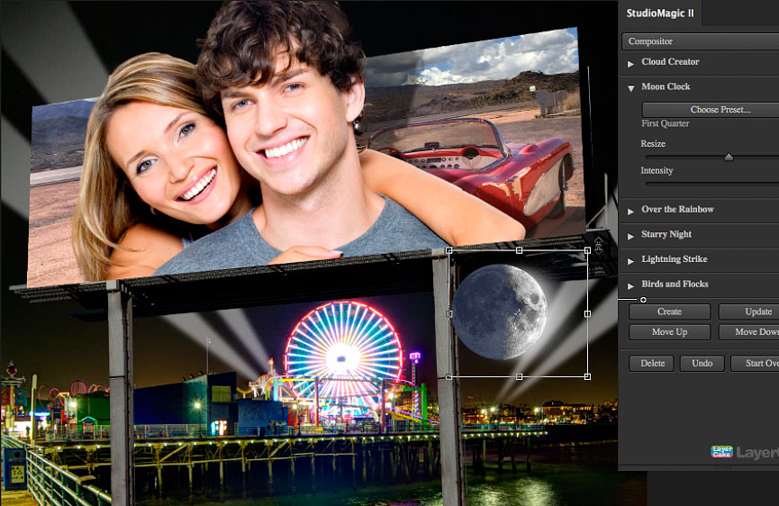 "Virtual Billboards. Making Composites ""Larger than Life!"""